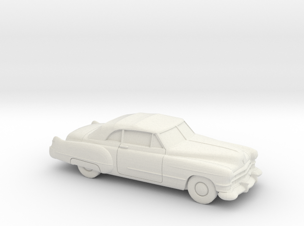 1/87 1949-52 Cadillac Eldorado Convertible in White Strong & Flexible