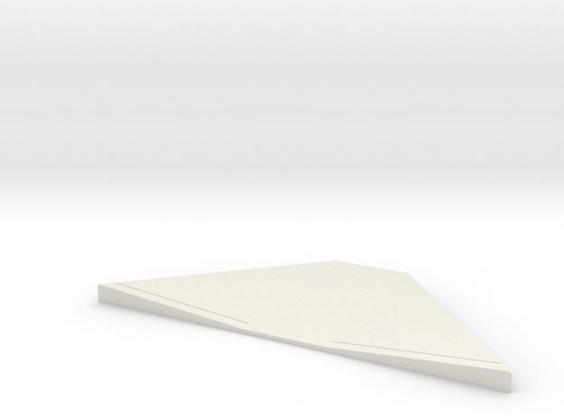 MOF HC Ramp1 - 72:1 Scale in White Natural Versatile Plastic