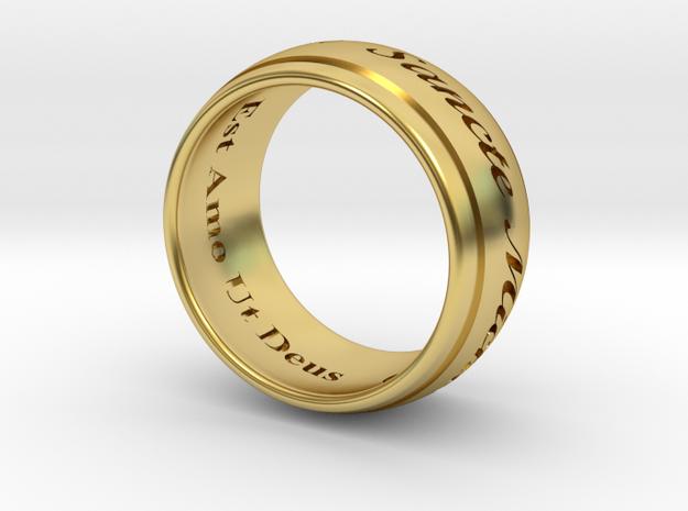 Saint Michaels Ring Size 9