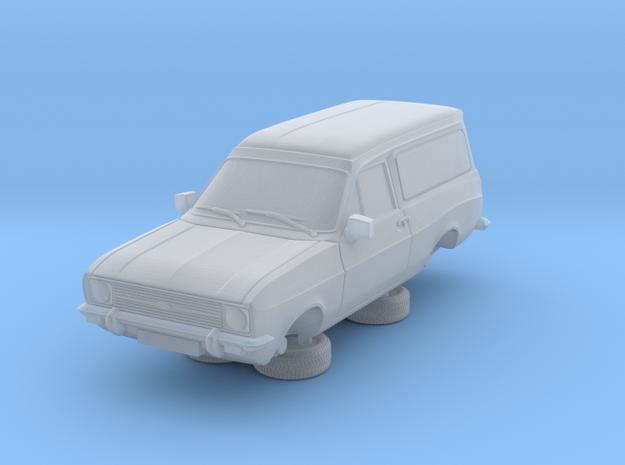 1:87 escort mk 2 2 door van round headlights in Smooth Fine Detail Plastic