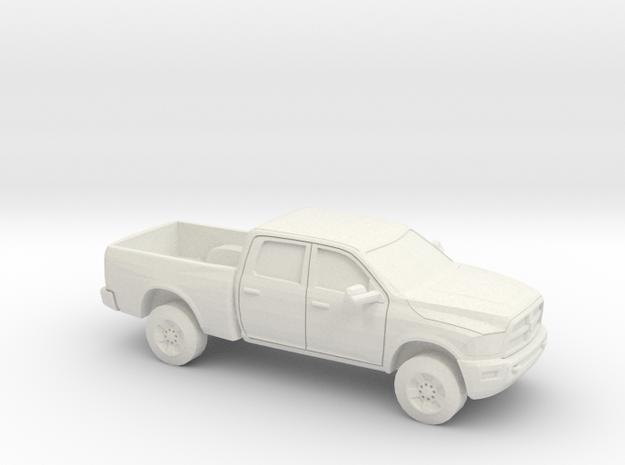 1/87 2013 Dodge Ram Crew Power Wagon in White Natural Versatile Plastic