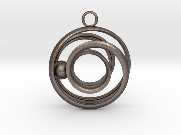 Mobius Strip - Rail and sphere