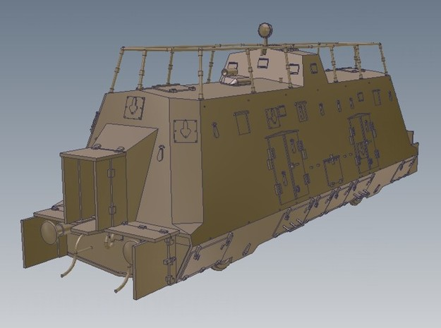 1-50 Sep-Parts K-Wagen For BP-42 3d printed