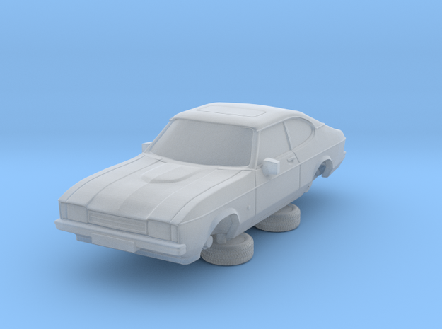 1-76 Ford Capri Mk2 Standard in Smooth Fine Detail Plastic
