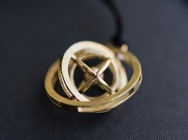 Double Rotating Planet - Time turner inspired