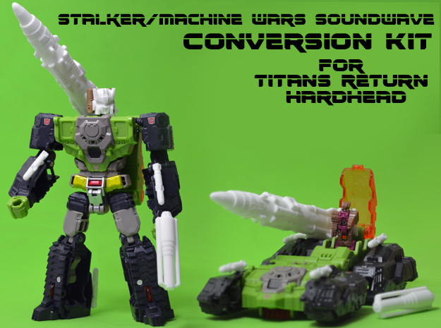 Stalker/MW Soundwave Upgrade Kit (Titans Return)