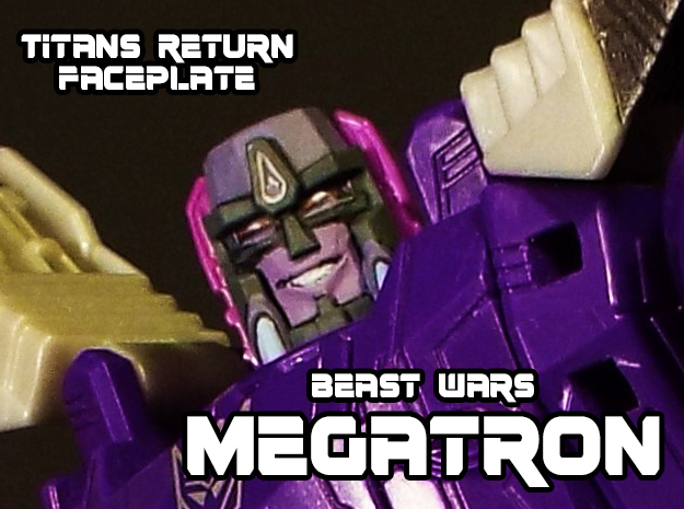 Beast Wars Megs, Grin (Titans Return) in Smooth Fine Detail Plastic