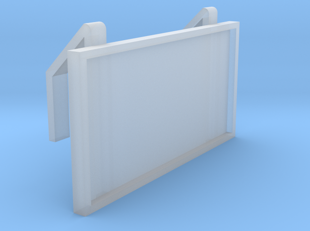 EP73 Track Diagram Board in Smooth Fine Detail Plastic
