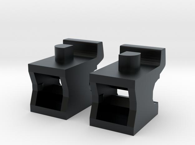 Spinout Fix; Shoulder Articulation in Black Hi-Def Acrylate