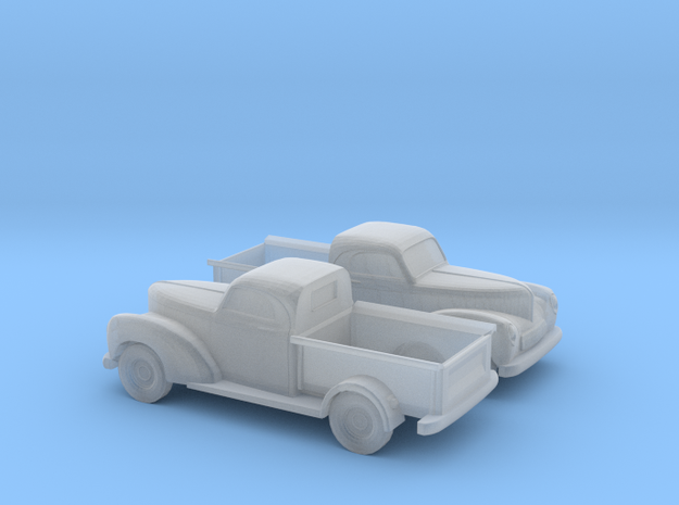 1/120 2X 1940 Willys Overland Half Ton Truck in Frosted Ultra Detail