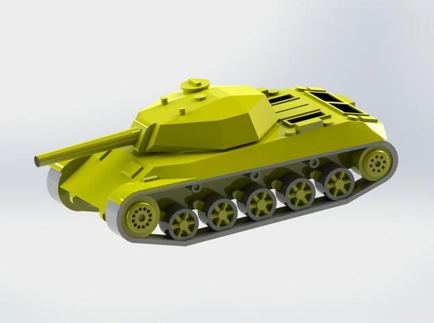 Italian P43 bis Medium Tank 1/285 6mm 3d printed Add a caption...