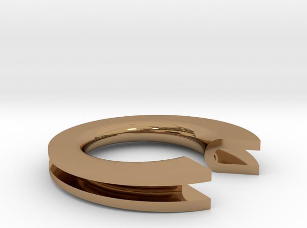 U Letter Ring
