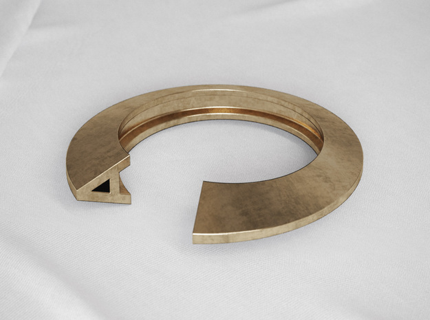 A Letter Ring