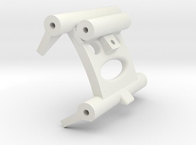 MRB 5 Schwingenverbinder hinten in White Natural Versatile Plastic