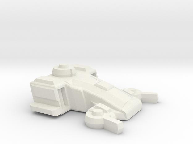 TAR Transport in White Natural Versatile Plastic