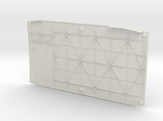 NUC Customizable 3D Printed Cover in White Natural Versatile Plastic