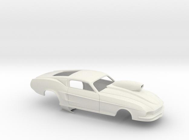 1/25 67 Pro Mod Mustang W Snorkel Sm Wheel Well