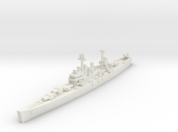 Brooklyn class cruiser 1/1800 in White Natural Versatile Plastic