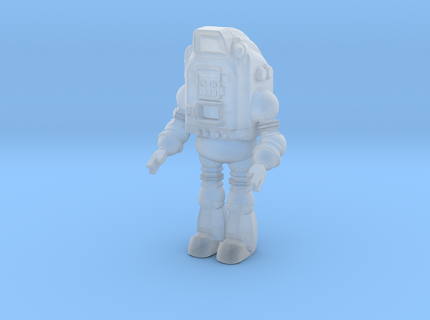 1-87 Scale Pop-Bot in Smooth Fine Detail Plastic