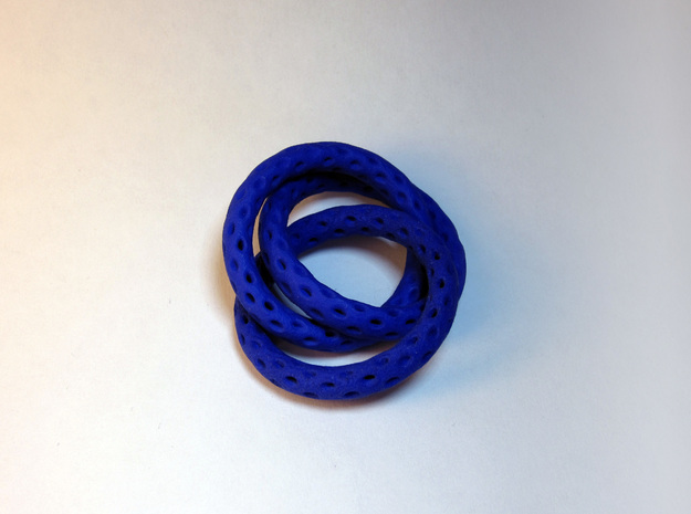 3 Interlocked Lattice Rings 3d printed