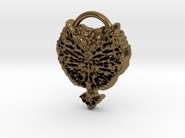 leaf in Polished Bronze