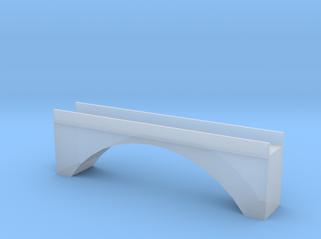 Single Arch Single Track 60mm Bridge in Frosted Ultra Detail