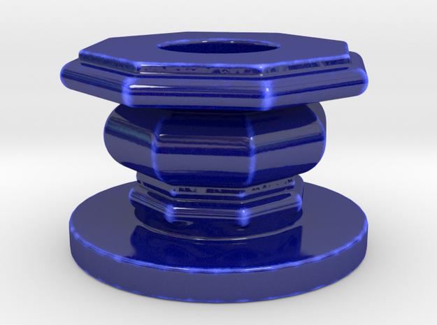 Port Can P 1 Ottobre in Gloss Cobalt Blue Porcelain