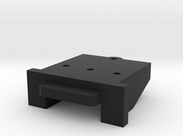 Lionel O Scale [LOWERED] FM H16-44 Coupler Mount in Black Natural Versatile Plastic