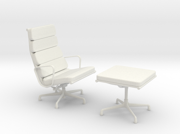 Miniature Eames Softpad Chairs - Charles Eames