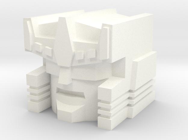 Nosecone in White Processed Versatile Plastic