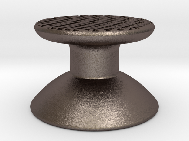 S7800b Joystick V2 in Polished Bronzed Silver Steel
