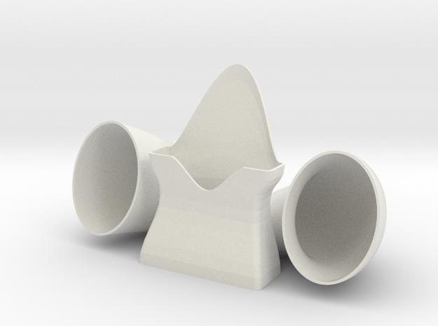 IPhone Music Amplifier in White Natural Versatile Plastic