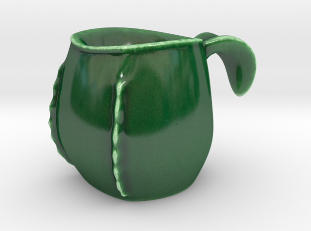 Nepenthes Demitasse in Gloss Oribe Green Porcelain