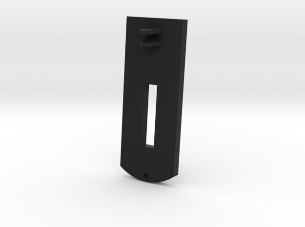 1:17 scale 32Lb Carronade Slide in Black Natural Versatile Plastic