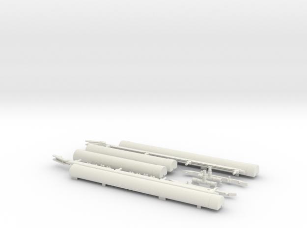 1.6 FLOTTEURS EC FULL KIT in White Natural Versatile Plastic