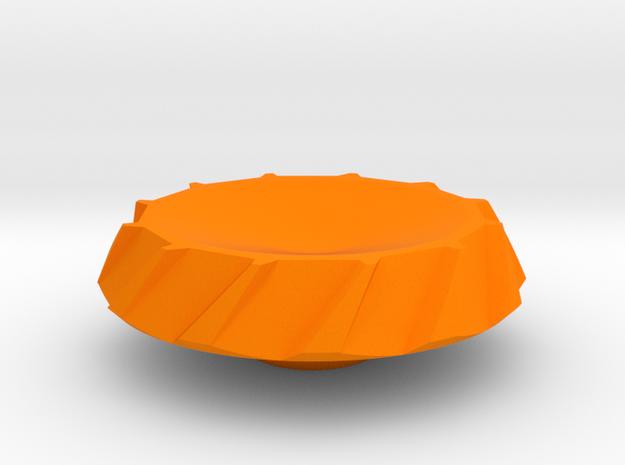 BroConcepts Cap 1 in Orange Processed Versatile Plastic