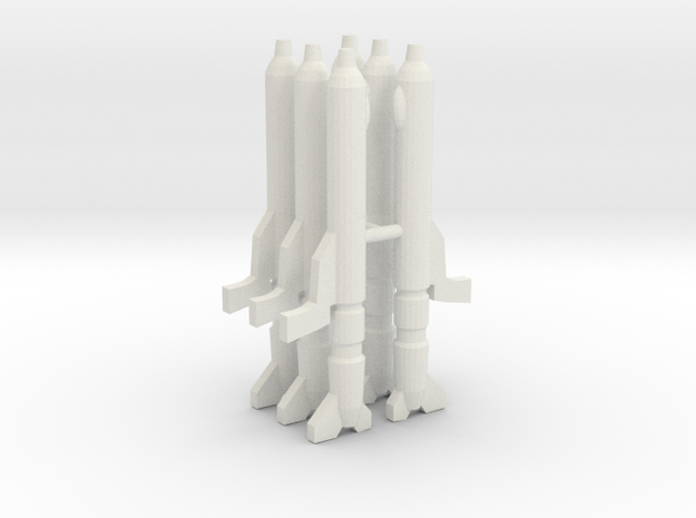 Gunpods 1/285 in White Natural Versatile Plastic