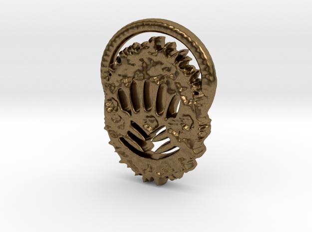Creator Keychain in Natural Bronze