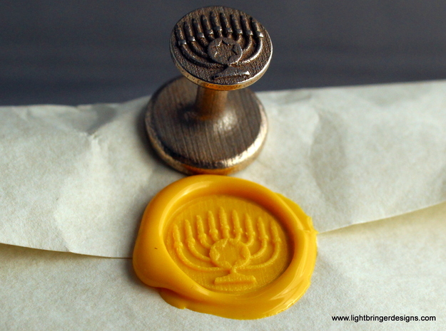 Menorah Wax Seal