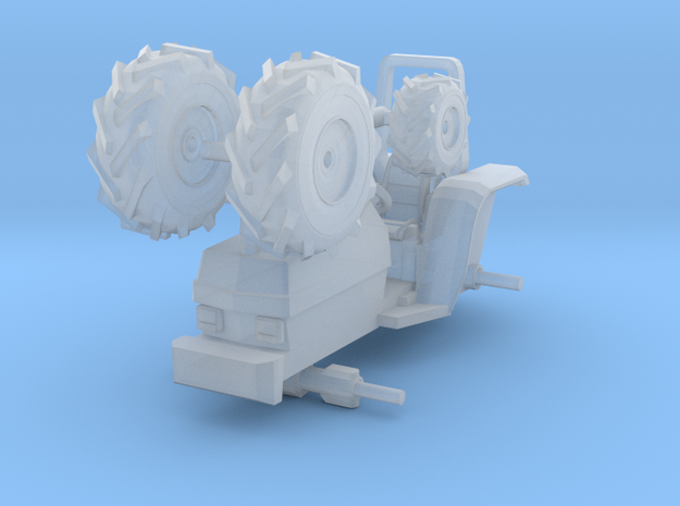 1/87 Scale Small Farm Tractor in Frosted Ultra Detail