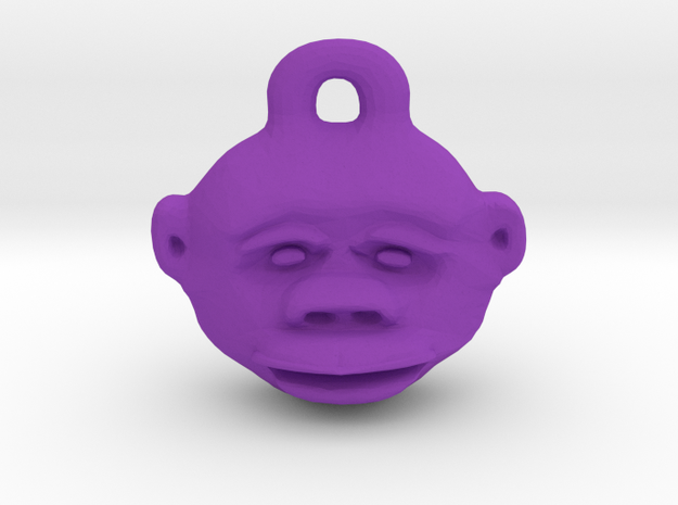 Great Ape in Purple Processed Versatile Plastic