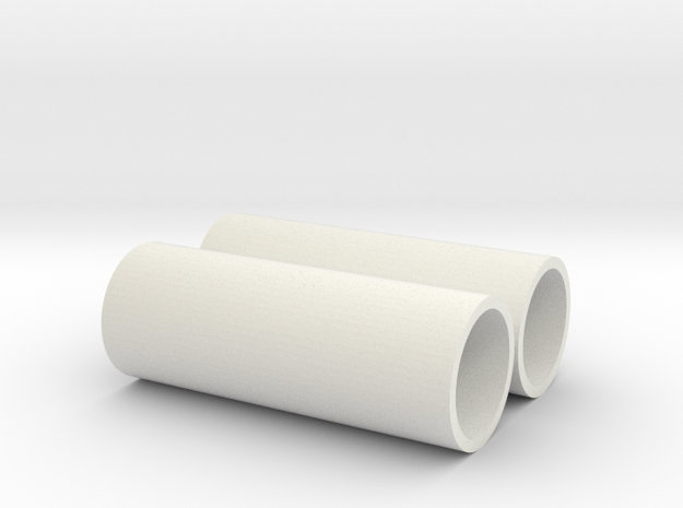 Z 042 2 Betonrohr 3,5m in White Natural Versatile Plastic