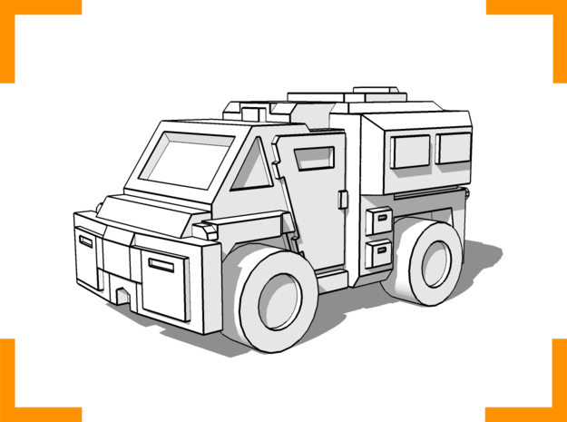 Westmaster Utility Truck 6mm