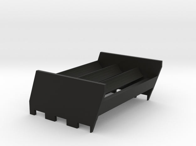 N1 Sextuple 18650 Sled in Black Natural Versatile Plastic