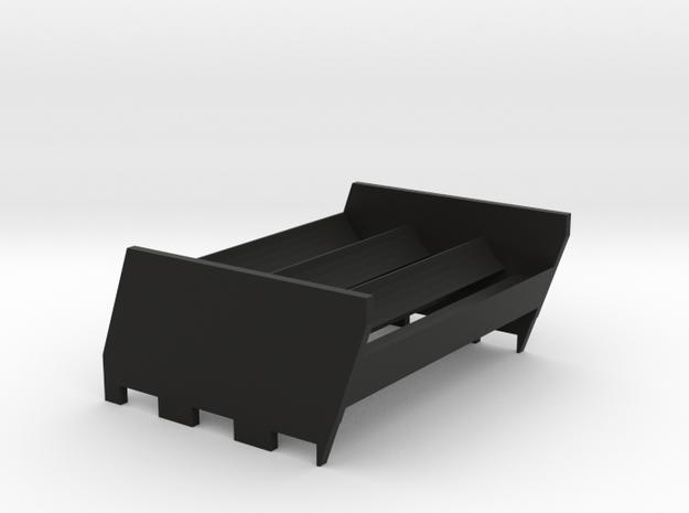 N1 Sextuple 18650 Sled in Black Natural Versatile Plastic