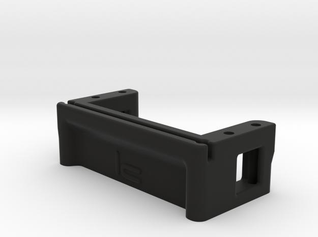 Low Profile Servo Mount in Black Strong & Flexible