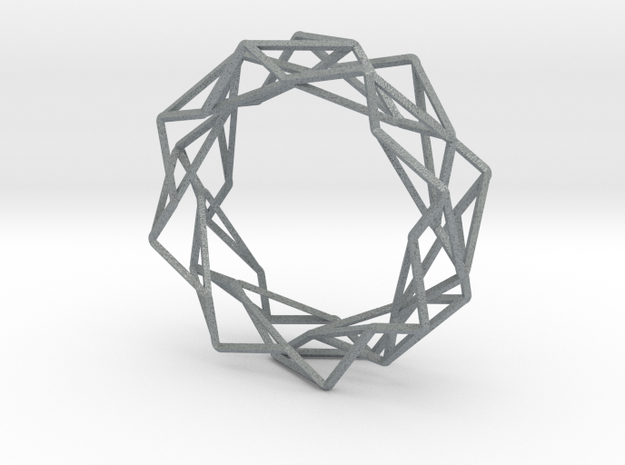 Wire Bangle 3d printed