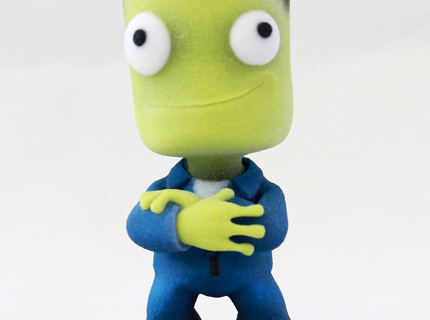 Kerbal Recruit 3d printed Recruit
