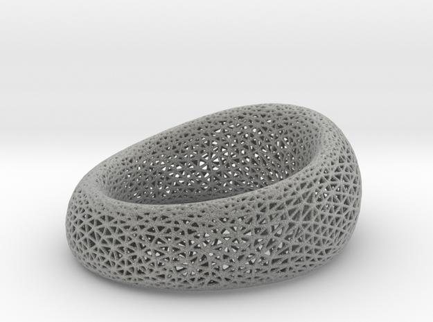 Mesh Bracelet in Metallic Plastic
