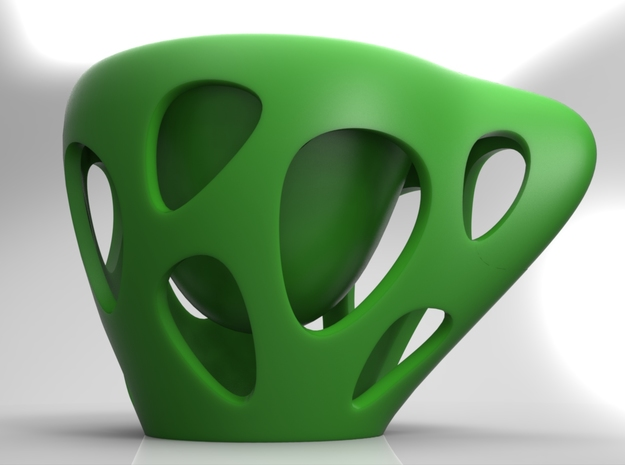 Suspended Coffee 3d printed